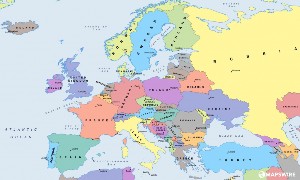 Printable Map Of Us And Europe New Printable Map United States | Printable Map Of United States And Europe