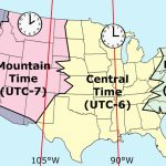 Printable Map Of Us Time Zones Zone Florida United States | Us Timezone Map Printable