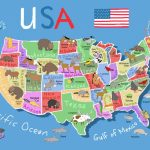 Printable Map Of Usa For Kids | Its's A Jungle In Here!: July 2012 | Printable Usa Map For Kindergarten