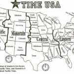 Printable Time Zone Map Us And Canada Best Printable Map Us Canada | Printable Usa Time Zone Map