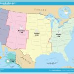 Printable Time Zone Map Us And Canada New Map Timezones In United | Printable Usa Map With States And Timezones