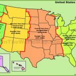 Printable United States Map With Time Zones And State Names Fresh | Printable Usa Map Of Time Zones