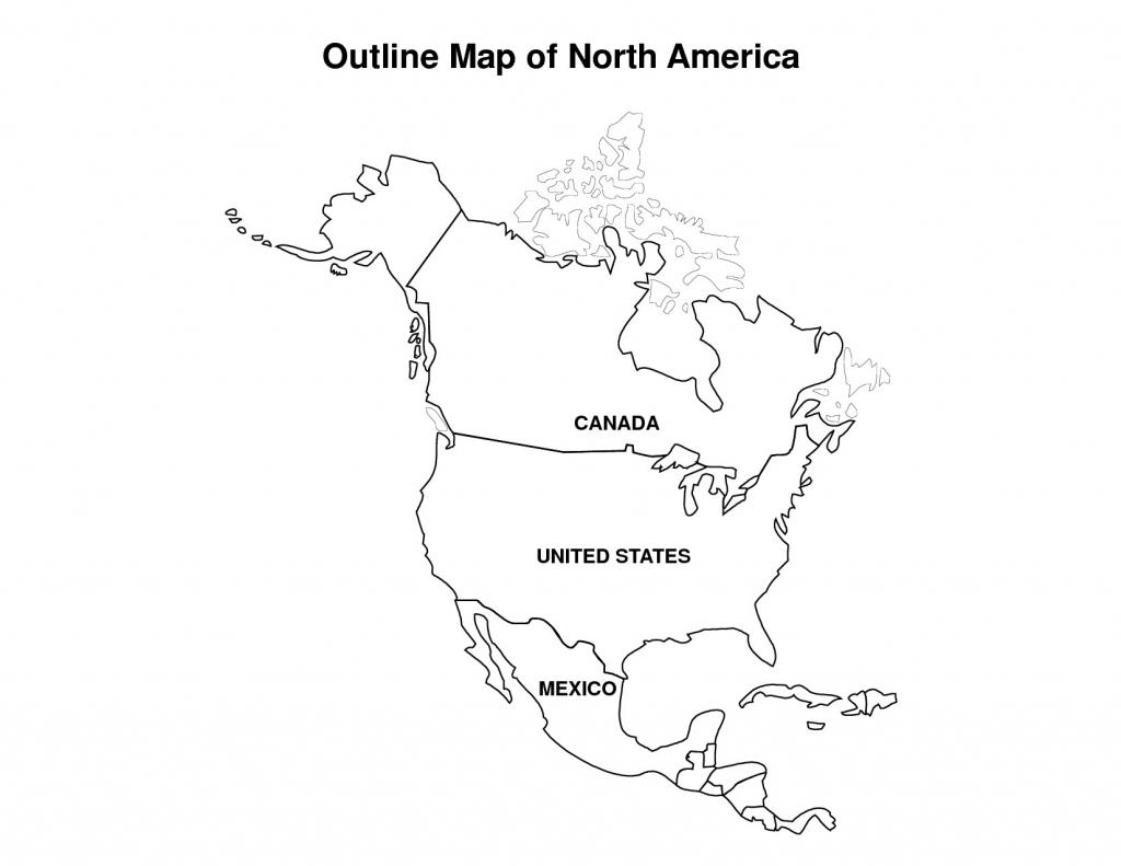 Printable Us Map For Kindergarten Refrence Printable Map Of North | Printable Usa Map For Kindergarten