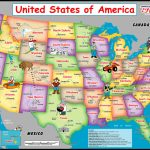 Printable Us Map For Kindergarten Save United States Map For | Printable Usa Map For Kindergarten