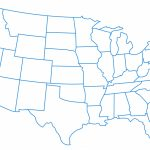 Printable Us Map No Labels Fresh Us Map With State Labels World Maps | Printable Us Map No Labels