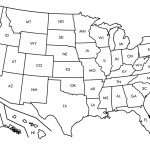 Printable Us Map Outline Free Save Free Printable Us Map Blank | Printable Us Map By State