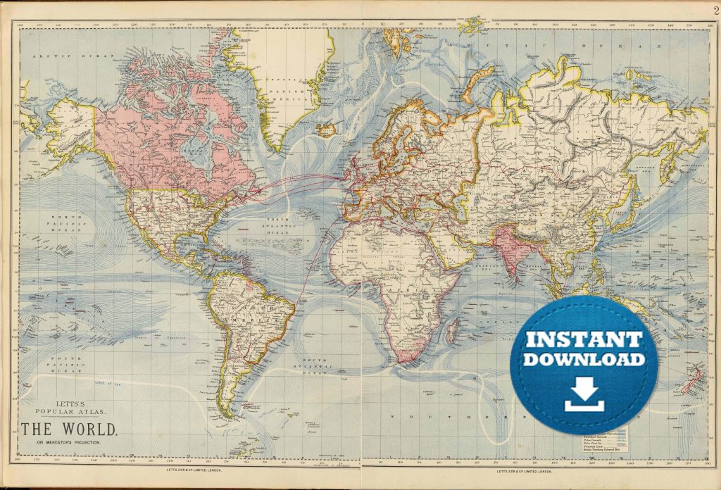 Printable Us Map Poster Save Free Downloadable World Maps Fresh | Printable Us Map Poster