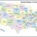 Printable Us Map With Capitals Us States Map Fresh Printable Map | Printable Map Of The United States And Capitals