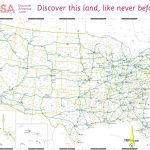 Printable Us Map With Interstates Best Printable Map Of The United | Printable United States Map With Interstates