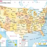 Printable Us Map With Latitude And Longitude And Cities Best | Printable Us Map With Latitude And Longitude