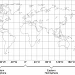 Printable Us Map With Longitude And Latitude Lines Valid United | Printable Usa Map With Latitude And Longitude
