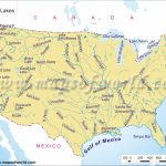 Printable Us Map With Rivers Valid North America Map Mountains | Printable Us Map With Mountains And Rivers