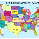Printable Us Map With States And Capitals Test Your Geography | Printable Us Capitals Map