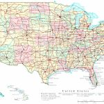 Printable Us Map With States Labeled Refrence Map Usa States Cities | Us Map With Cities And States Printable