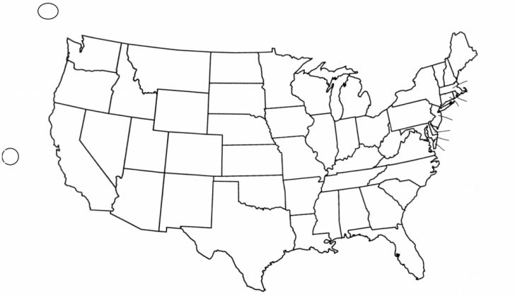 Blank Us Political Map Printable
