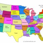 Printable Us Maps With States (Outlines Of America   United States) | Print Map Of United States With Capitals