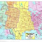 Printable Us Time Zone Map With States Best Detailed Map Florida | Printable Detailed Us Map