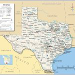 Reference Maps Of Texas, Usa   Nations Online Project   Complete Map | Printable Map Of Texas Usa