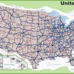 Road Map Of Michigan Highways Printable Us Map With Interstate | Printable Us Map With Interstate Highways