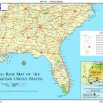 Road Map Southeastern United States Save Southeast Us Map Major | Printable Map Of Se United States
