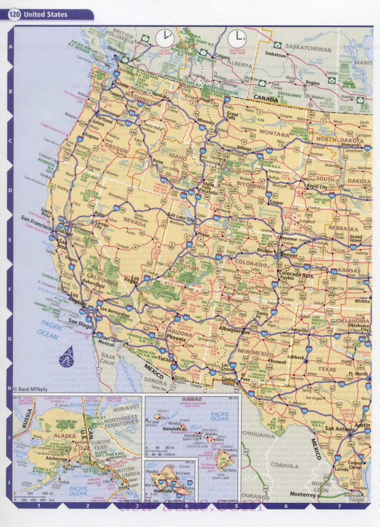 Road Map Usa. Detailed Road Map Of Usa. Large Clear Highway Map Of | United States Road Map With Cities Printable