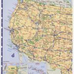 Road Map Usa. Detailed Road Map Of Usa. Large Clear Highway Map Of | Western United States Road Map Printable