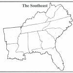 South Us Region Map Blank Inspirationa United States Regions Map | Blank Us Regions Map