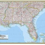 Southeast Us Elevation Map New Printable Map The Southeastern United | Printable Southeastern United States Map