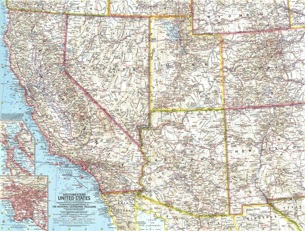 Southwest Usa Map Free Print Map Map Of Southwestern States 20 Map | Printable Map Of Southwestern United States