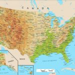 The United States Physical Map Refrence United States Physical Map | United States Physical Map Printable
