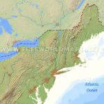 The United States Physical Map Save East Coast Of Us Map Printable | Printable Us Map Landscape