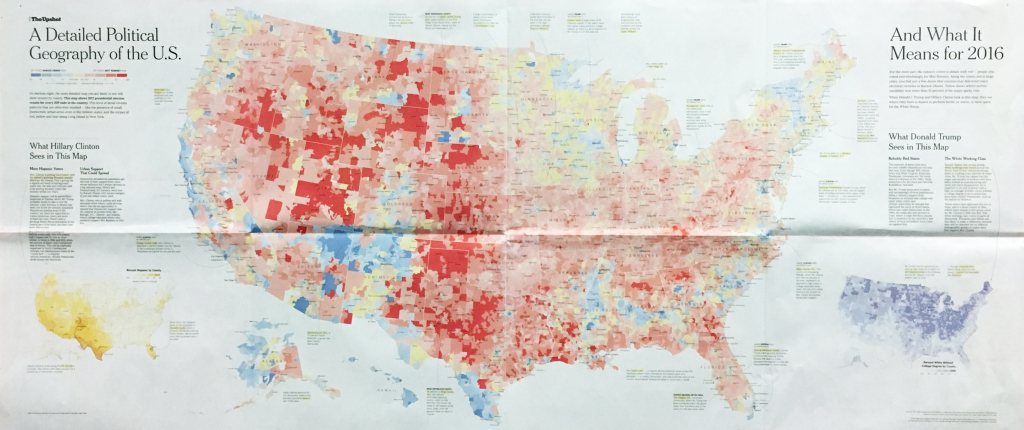 There Are Many Ways To Map Election Results. We've Tried Most Of | Large Scale Printable Us Map