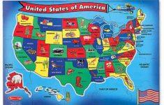 U S A Map Puzzlemelissa Amp Doug Printable Of United States | Printable United States Map Puzzle