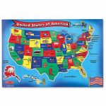 U S A Map Puzzlemelissa Amp Doug Printable Of United States | Printable Us Map Puzzle