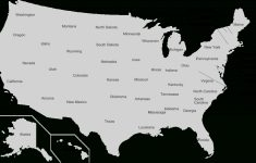 U.s. State – Wikipedia | Map Of 52 States In Usa Printable