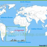 U.s. Virgin Islands Maps | Maps Of United States Virgin Islands | Printable Map Of Us Virgin Islands