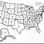 United States Black And White Outline Map Best Printable Blank Usa | Printable Usa Map For Kindergarten