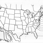 United States Blank Map Quiz Fresh Us Map Black And White Outline Us | Printable United States Blank Map Quiz