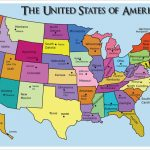 United States Capitals Quiz Printable Google Search School In | Printable Map Of The United States With State Names And Capitals