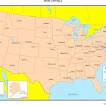 United States Colored Map | Big United States Map Printable