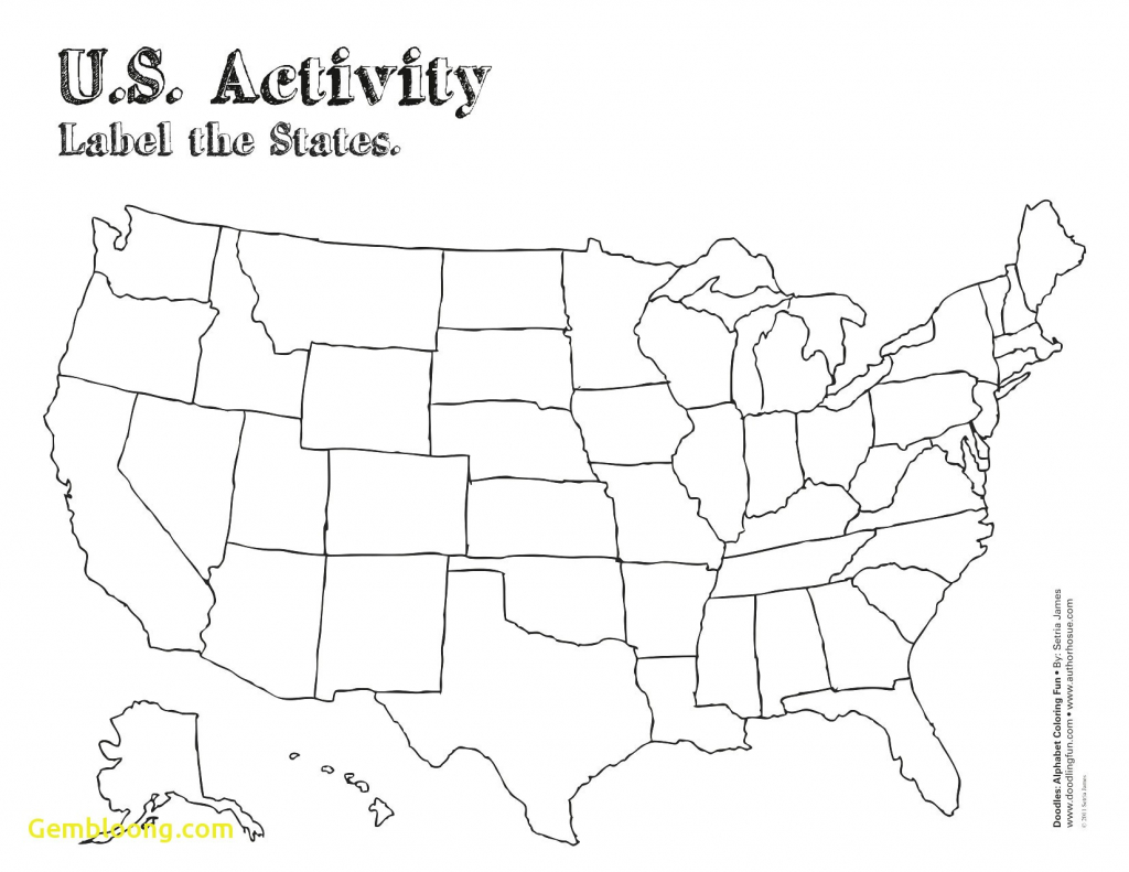 United States Map Blank Numbered New United States Map Printable | Blank Us Map Numbered