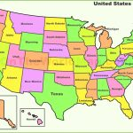 United States Map Blank With Capitals New United States Map State | Free Printable United States Map With Abbreviations