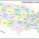 United States Map Capitals Labeled Beautiful United States Map | Printable Us Map With States And Capitals Labeled