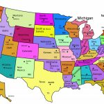 United States Map Capitals Labeled New Amazing Us Map With States | Printable Map Of Usa States With Names