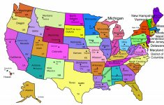 United States Map Capitals Labeled New Amazing Us Map With States | Printable Map Of Usa With State Names And Capitals