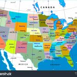 United States Map Capitals List And Cities State Capital Major | Printable Us Map With Capital Cities