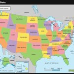 United States Map Color States Refrence Free Printable Map Usa | Printable Map United States America