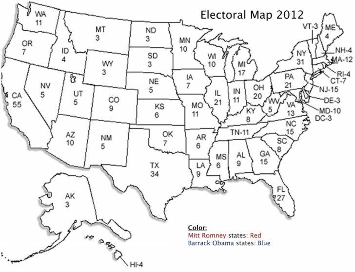 Printable United States Map For Kindergarten