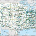 United States Map Of Interstates New Printable Us Map With Major | Printable Us Map With Cities And Highways