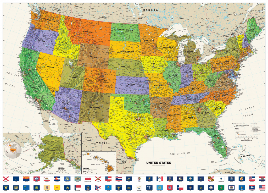 United States Map Posters | United States Map Large Print